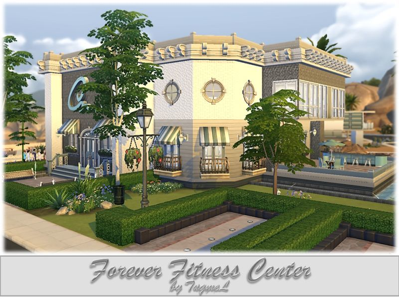 SIMS-4 Community Lot Preview