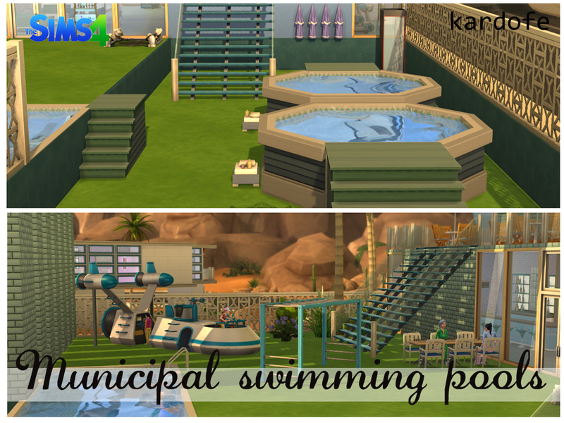 how to make a pool on sims 4