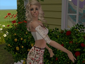 Sims 2 — Nicky by sirok2 — She looks like tender doll. take care about her.