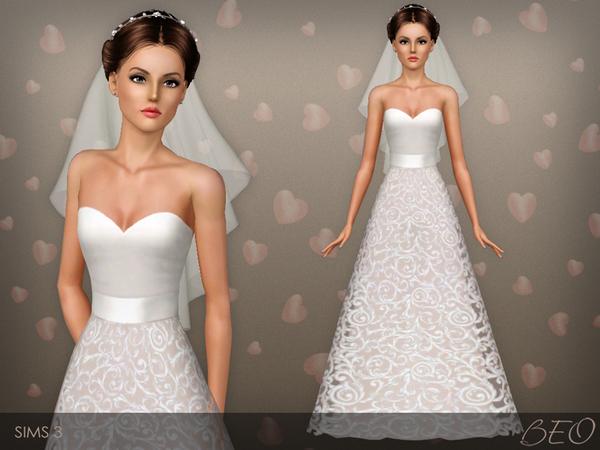 Вечерние, бальные, свадебные платья [Архив] - Страница 4 - thesims