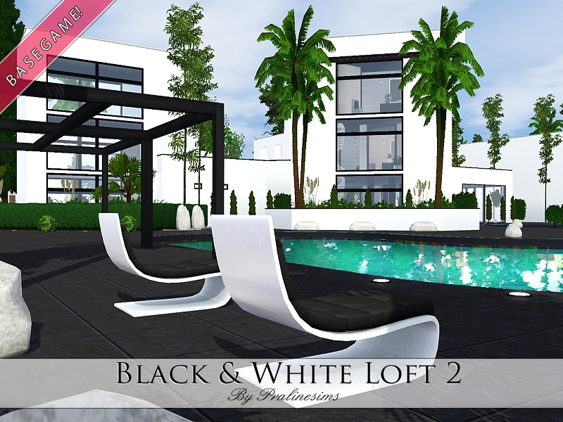 Pralinesims black and white loft 2