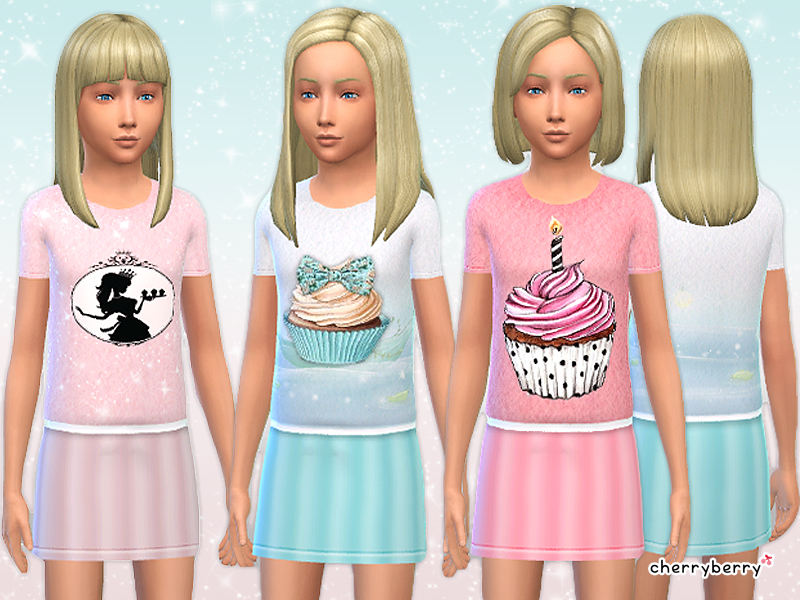 Cherryberrysim S Candy Dress