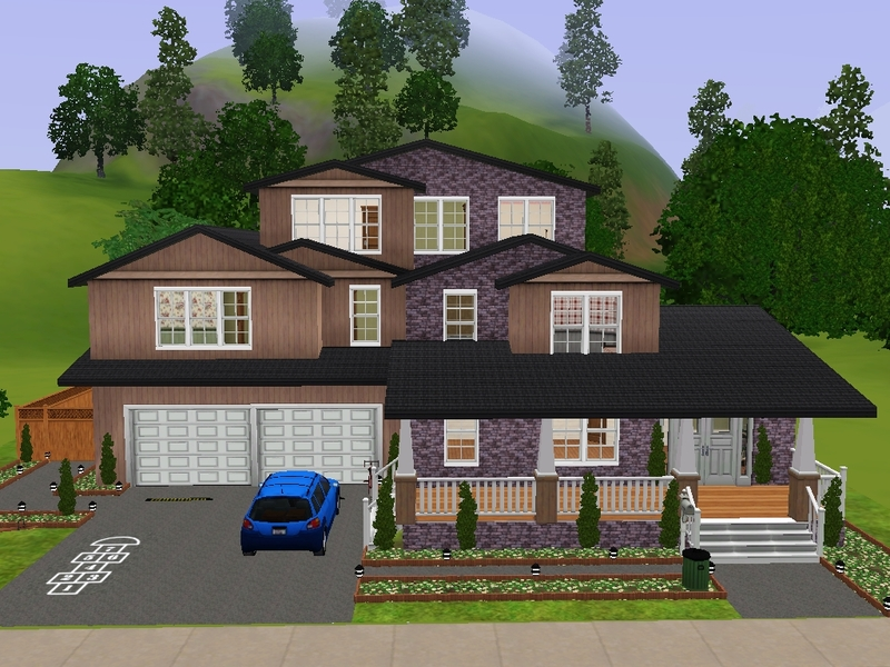 Thesimvlogger 39 s summerwood furnished for Sims 3 family home ideas