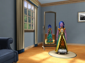 Sims 3 — Nightelf girl dresses by egyptiansimlover2 — I made these two dresses for my nightelf daughters,I thought these