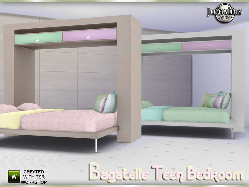 Jomsims Bagatelle Double Bed