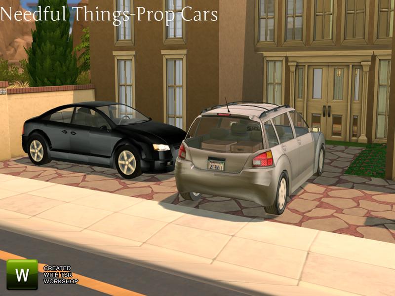 TheNumbersWoman\'s Needful Things Car Props