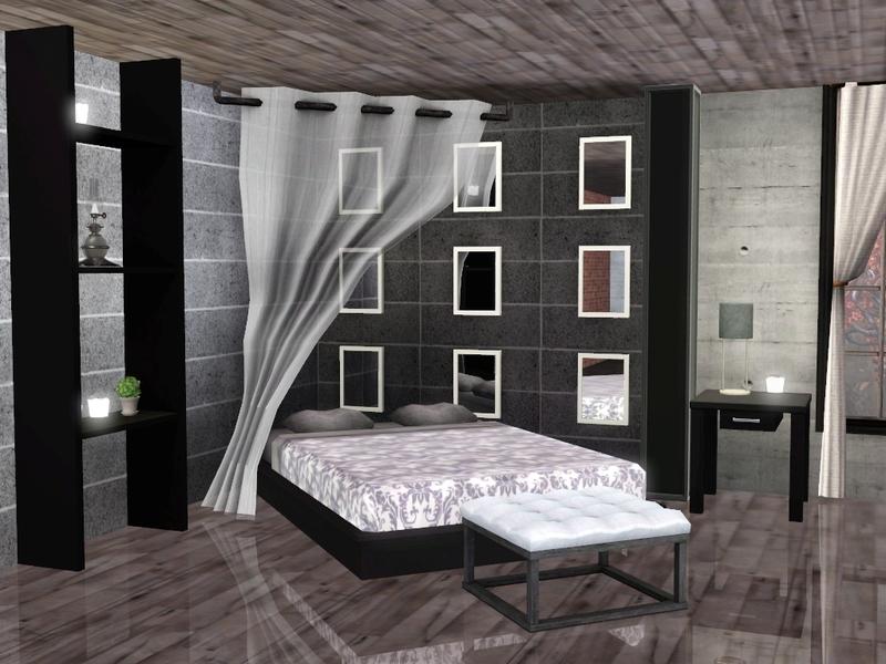 Sim Man123 39 S Aaren Bedroom