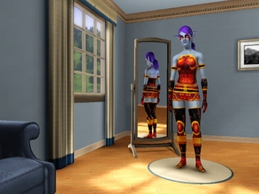 Sims 3 — BattleForge Set AF by egyptiansimlover2 — This is my 2nd requested creation ^_^,This is the Battleforge Set for