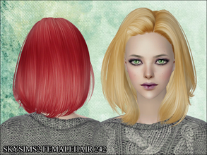 Sims 2 — Skysims Hair 242 by Skysims — Skysims Hair 242