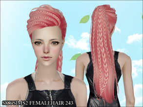 Sims 2 — Skysims Hair 243 by Skysims — Skysims Hair 243