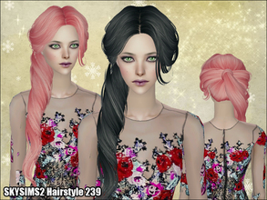 Sims 2 — Skysims Hair 239 by Skysims — Skysims Hair 239