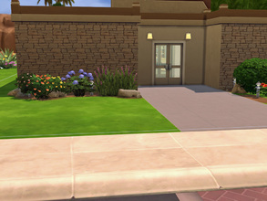 Sims 4 — Library Oasis Creek by cashynia — A big place to learn, make homework. And a corner for child too.