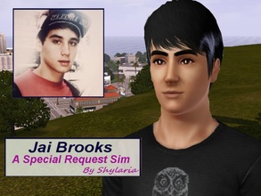 Sims 3 — Jai Brooks by Shylaria — Jai Brooks (born May 3, 1995) is an Australian YouTube comedian, prankster, stunt
