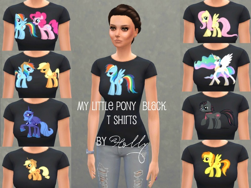 holly9955 s my little pony t shirts