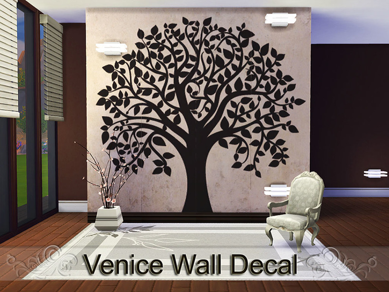 Pinkzombiecupcakes Venice Wall Decal - Wall stickers decalswall decal wikipedia