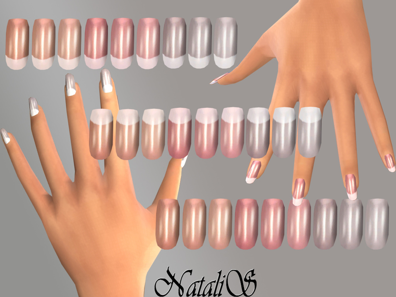 NatalIS_TS4 French long nails FT -FE