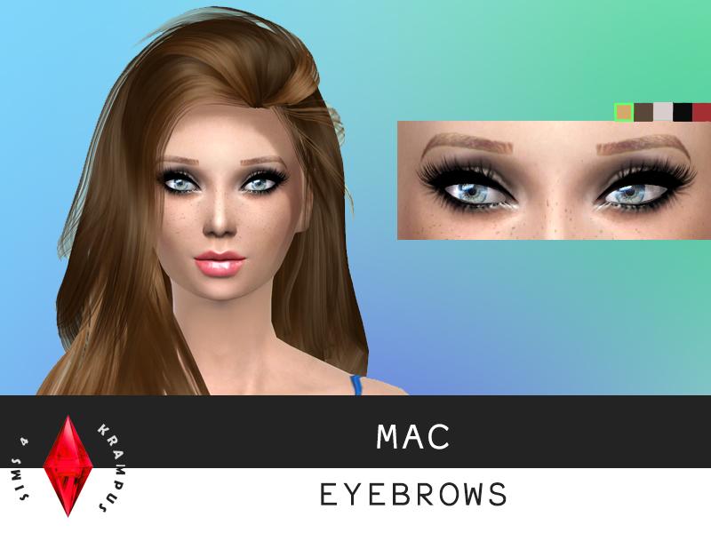Sims4krampus Mac Eyebrows