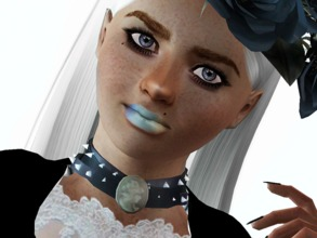 Sims 3 — 3's a crowd by Siv.  by siv — This lipstick has three channels, any color that you'd like. Some gloss added for