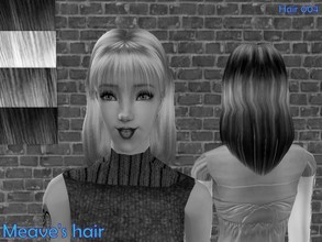 Sims 2 — S2s Mesh Female barbie hair 060720 by Well_sims — Hair mesh for you.