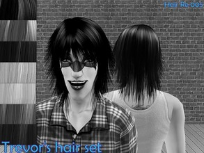 Sims 2 —  Peggy Mh080318 W007 Mesh by Well_sims — Hair mesh for you.