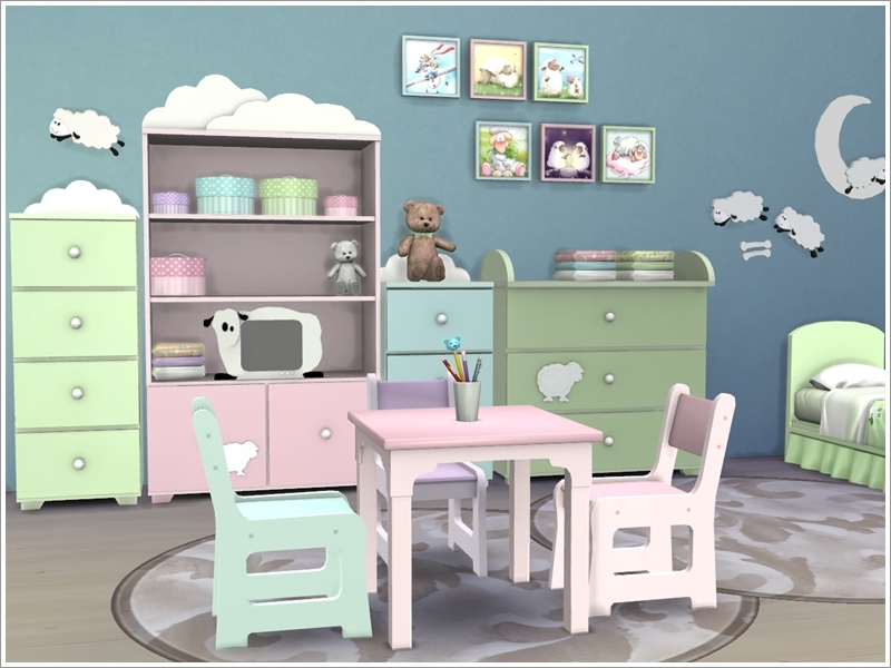 Severinka S Kids Room Baby Sheep