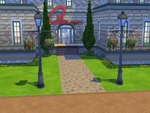 Sims 4 — Museum Odessa by cashynia — A place to learn something about sculpture and picture.