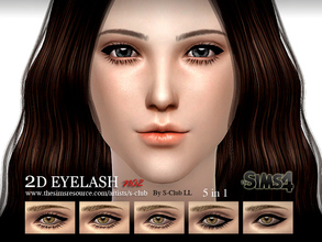 Sims 4 Downloads - 'eyelash'