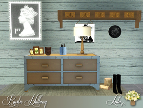 Sims 3 — Rustic Hallway by Lulu265 — A few Rustic Items to give your hallway that lived in look Collection Folder