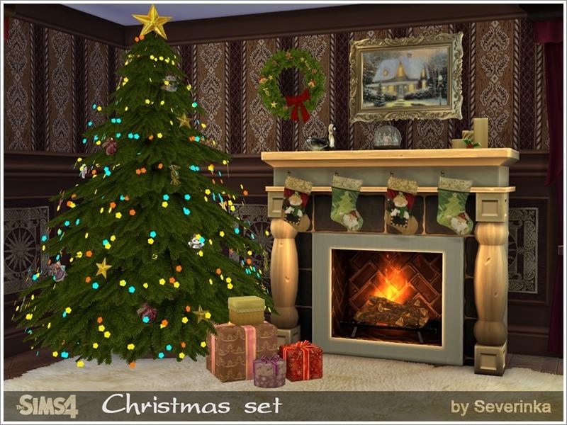 Severinka_'s Christmas set