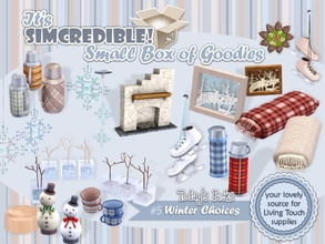Sims 3 — Winter Choices by SIMcredible! — It's SIMcredible! Small box of goodies #5 - Your lovely source for living touch