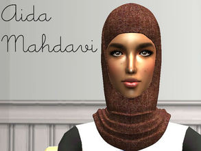 Sims 2 — Aida Mahdavi by renegaderunway — This Pakisani Muslimah works for her own non-profit group for young Muslim