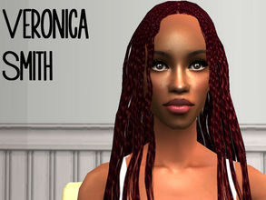 Sims 2 — Veronica Smith by renegaderunway — This Trinidadian counselor wants to make a huge impact at her local