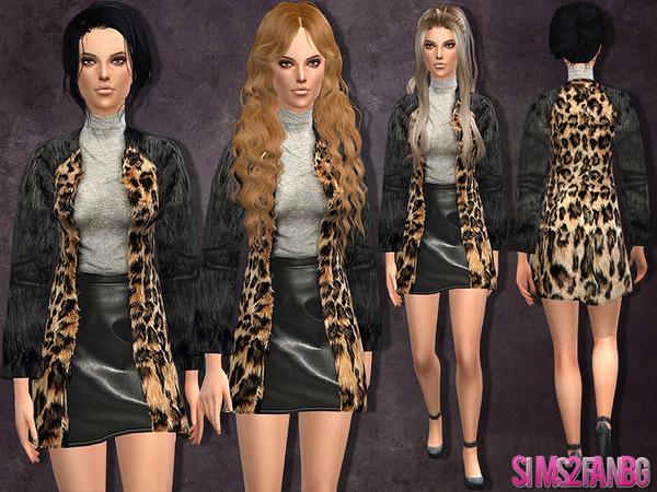 Женская верхняя одежда W-600h-450-2529593