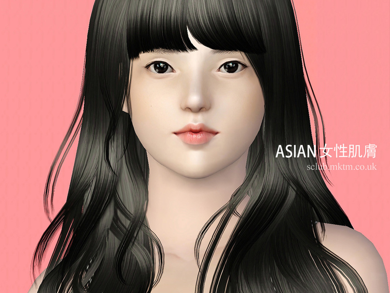 S Club Ts3 Skin Nondefault F Asian Skin Ab