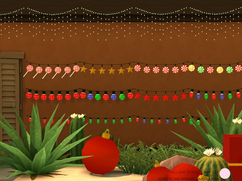 DOT's Holiday String Lamp Set
