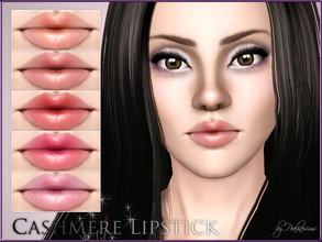 Sims 3 — Cashmere Lipstick by Pralinesims — New lipstick for your sims! Your sims will love their new look ;) - Fits with
