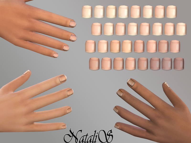 Sims 4 Accessories Male - \'nails\'