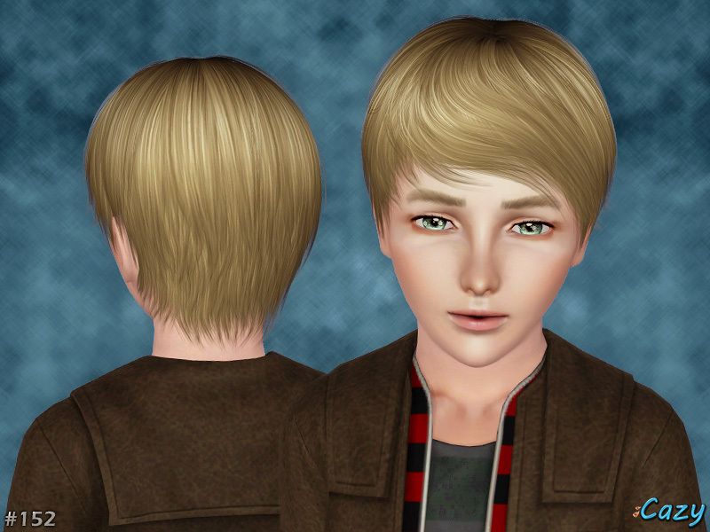 Cazy's Joey Hairstyle