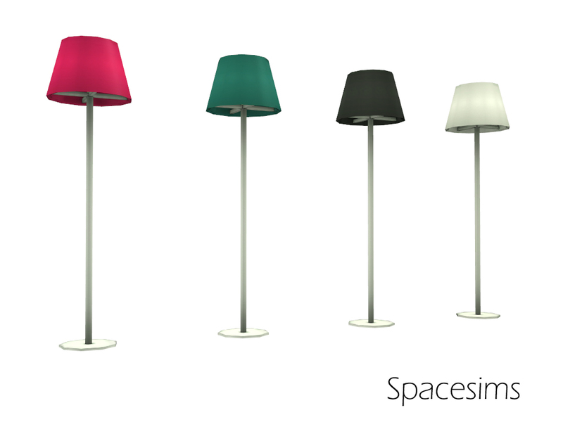 Spacesims Claire Teen Room Floor Lamp