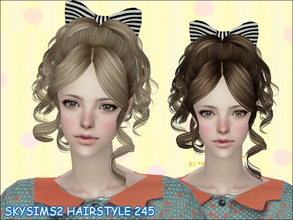 Sims 2 — Skysims Hair 245 by Skysims — Skysims Hair 245