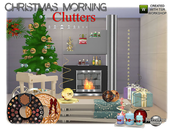 Jomsims' Christmas Morning Clutters
