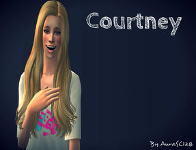 Sims 2 — Cortney by AuraSC128 — A new kind girl for u by Me :D Hope u like it
