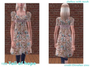 Sims 2 — 108-Tail of hope by Well_sims — Beautiful autumn outfit for your sim.
