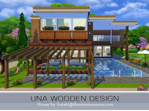 autakis Una Wooden Design : w 600h 450 2533234 from www.thesimsresource.com size 600 x 450 jpeg 202kB