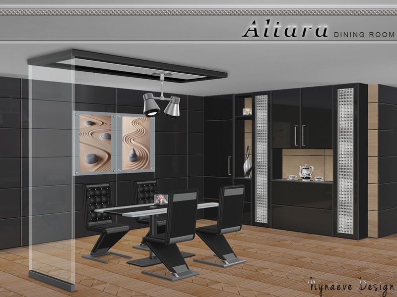 Nynaevedesign 39 s altara dining room for Dining room ideas sims 4