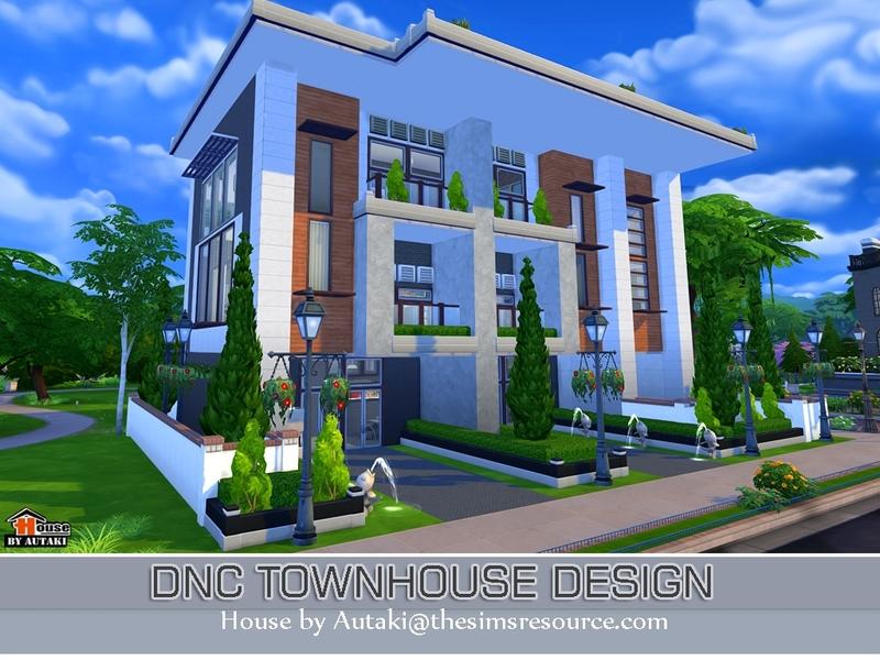 Autaki 39 s dnc townhouse design - Design my dream home online free ...