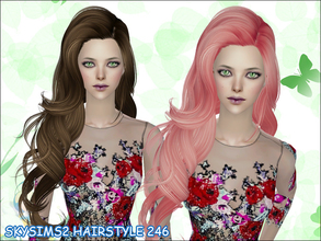 Sims 2 — skysims hair 246 by Skysims — skysims hair 246