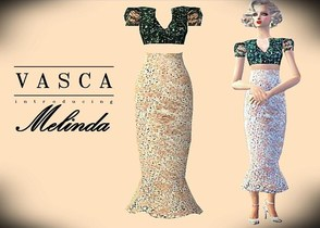 Sims 2 — Melinda by VASCA by ky2562 — This is my very first dress creation. I hope you guys can give me some feedbacks.