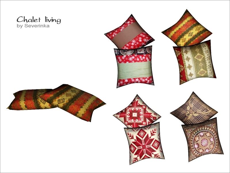 Severinka_\'s Pillows on floor