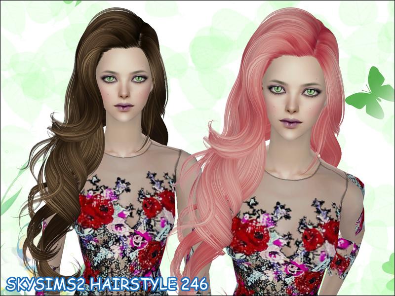 The sims 4 cabelos femininos pack
